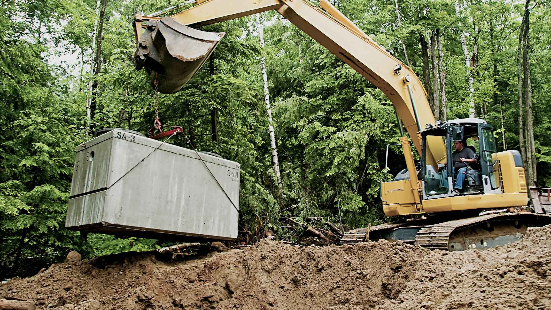 Hampstead Septic Installation, Septic Repairs and Utility Contractor